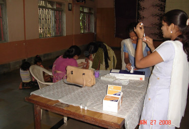 Immunization Program at Ma Niketan-Thane (2008)