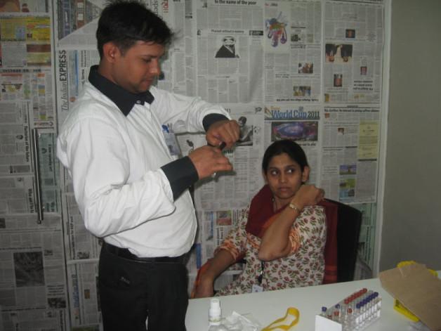 Women Wellness Camp at Capgemini, Mumbai (2008)