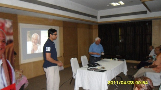 Senior Citizens – Pranic Healing Seminar (2011)