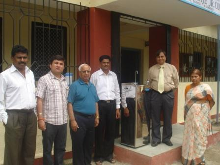 Donation of Water Cooler, Cupboard (2010)