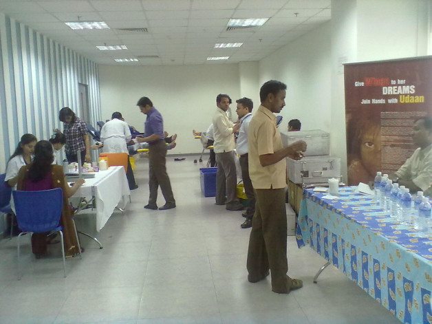 Blood Donation Camp – Marico Ltd. (2012)