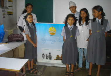 Anemia Camp – Harkishan English Public School, Thane (2013)