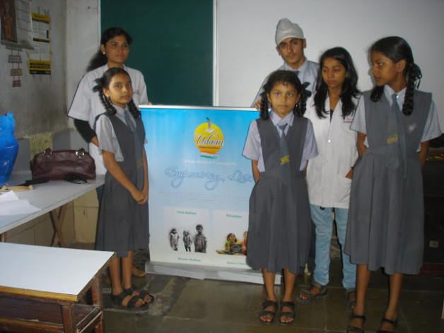 Anemia Camp – Harkishan English Public School, Thane (2013)