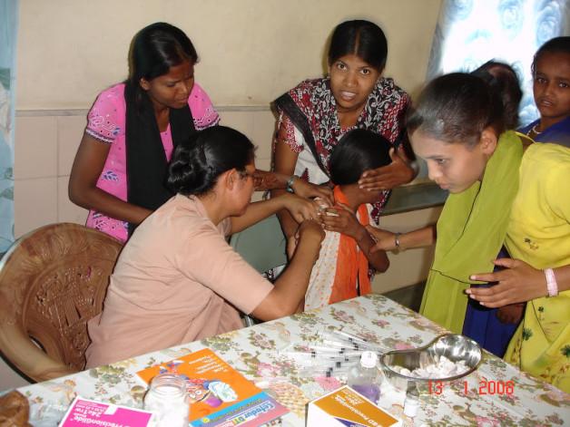 Immunization Program – Naya Jivan, Asangaon (2008)