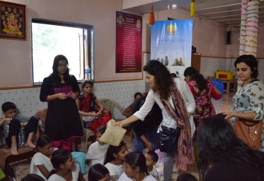 FabIndia Clothes Donation – Pathraj Village, Karjat (2013)
