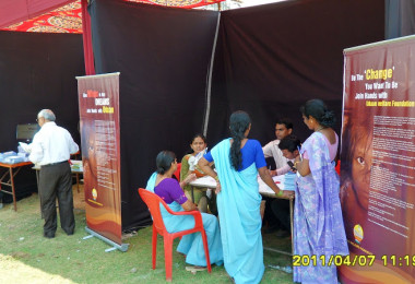 Diabetes Detection Camp at Kokanipada, Thane (2009)