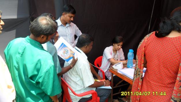 Diabetes Detection Camp at Kokanipada, Thane (2009)