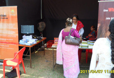 Cancer Detection Camp Kokanipada Village, Thane (2009)