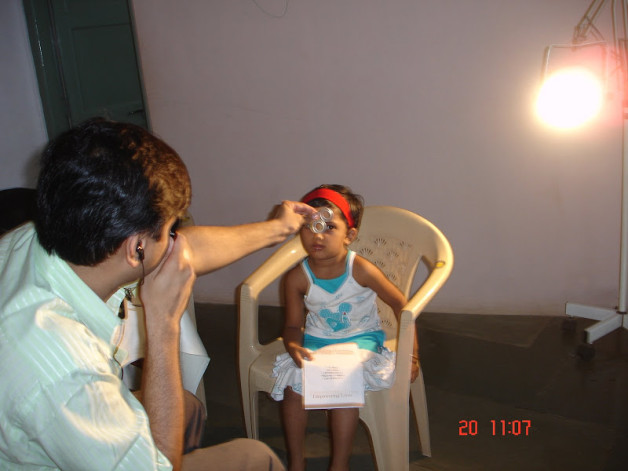 Health Check-up Camp for children of Ma Niketan (2008)