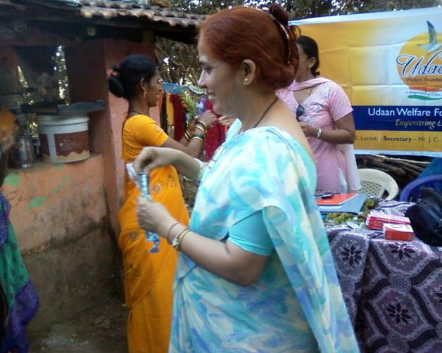 Anemia Detection Camp at Kokanipada Village, Thane (2009)