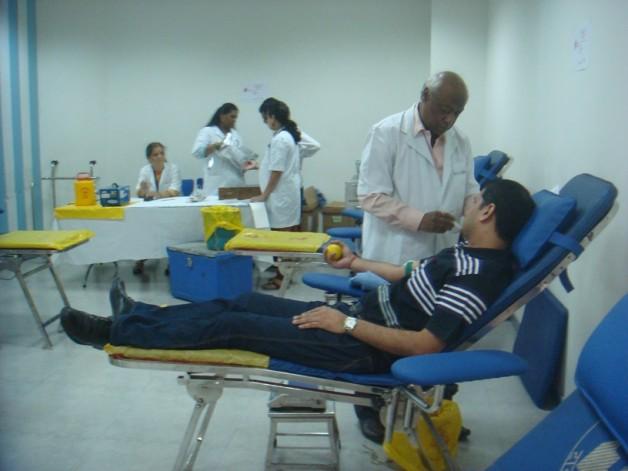 Blood Donation – Citibank, Mumbai (2012)