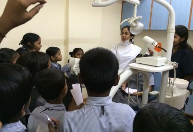Dental Health Check – Harkishan English Public School (2014)