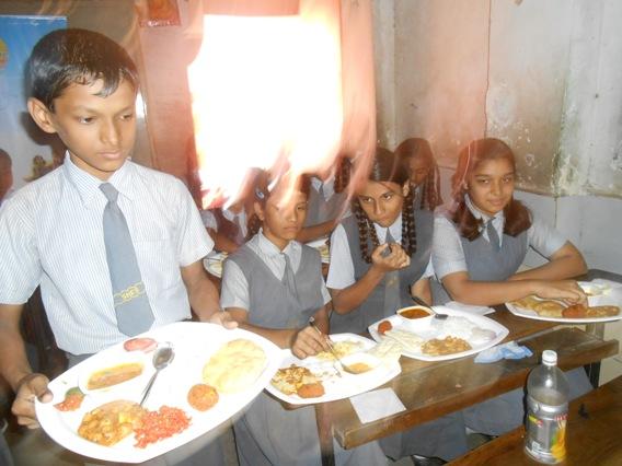 Nutrition Campaign – Harkishan School, Thane (2013)