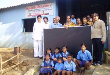 Blackboard Donation – Mahatma Jyotiba Phule Adivasi Seva Mandal, Kharbav village (2010)