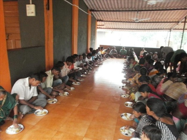 Nutrition Support – Villagers at Pathraj (2013)