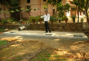 Rainwater Harvesting – Ma Niketan (2008)