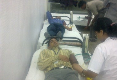Blood Donation – Capgemini, Airoli (2010)