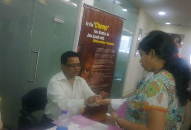 Blood Donation – Capgemini, Airoli (2011)
