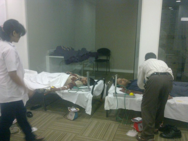 Blood Donation – Capgemini, Airoli (2011)