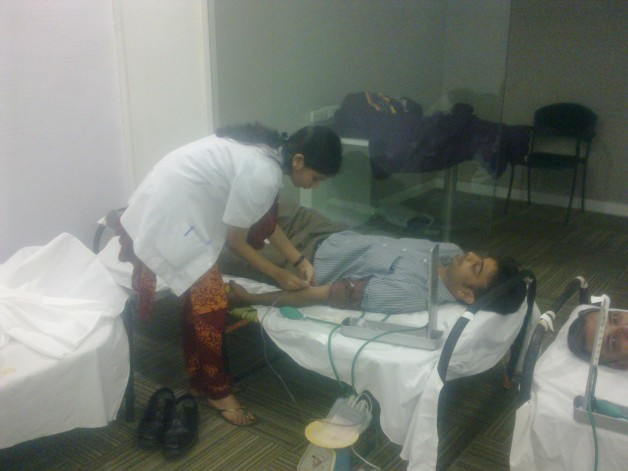 Blood Donation – Capgemini, Airoli (2010)