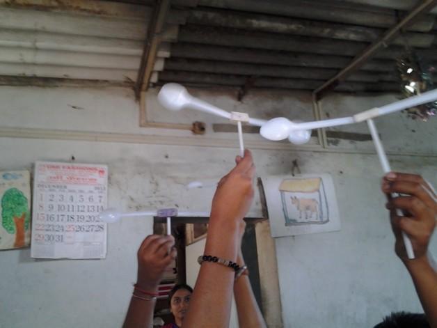 Udaan Vigyaan Ki- HariKishan School- January 2014